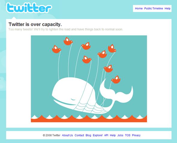 Too many tweets