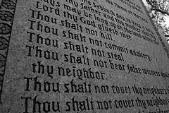 Ten commandments robeena