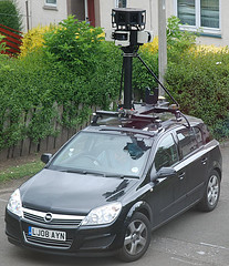 Google street view car croila